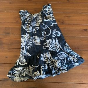 Other - Girls Island Print Dress